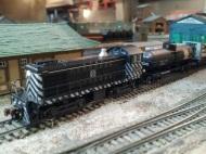 ATSF 1528 Swiching the Yard