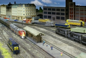 ATSF Excursion Arriving