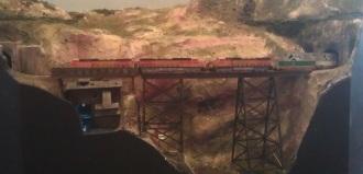 BNSF Crossing Hells Glen Trestle