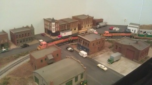 BNSF in town
