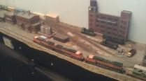BNSF running into Water Street