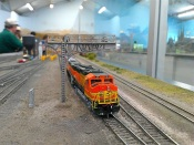 BNSF seting out