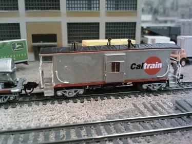 Caltrain Caboose