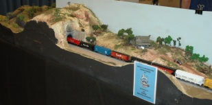 Canadian Pacific grain train at Tunnel 41