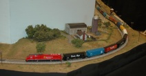 Canadian Pacific passing the farm (Photo by Morgan)