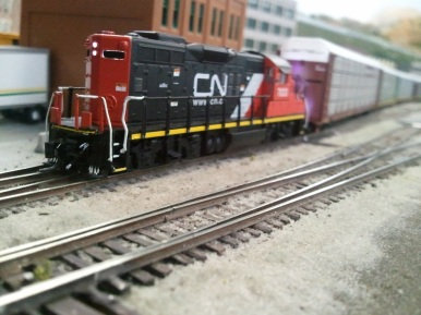 Cn switching autoracks