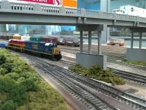 CSK approching the overpass