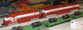 DD35 Demonstrator 5 (Brian Stewart)