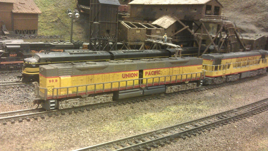 Emd Dd35 N Scale 1 160 James Train Parts