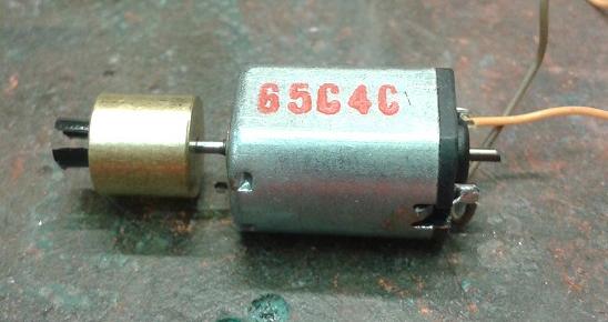 DD40AX Motor Cut