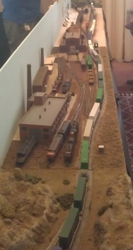 Double Stack passing Through Allied Rail