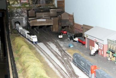 Metrolink at Coal Mine