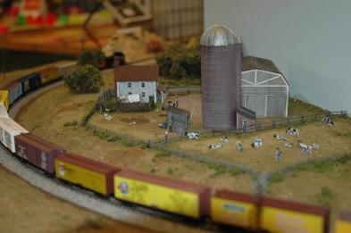 Running through the farm (Photo by Morgan)