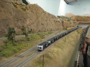 Coal drag waiting in Colfax