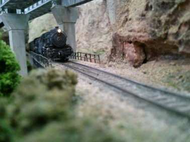 Steam under the bridge