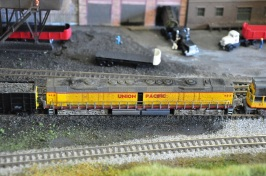 UP DD35 at the coal mine