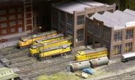 UP Diesel Sheds