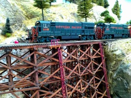 WP over James Canyon Trestle