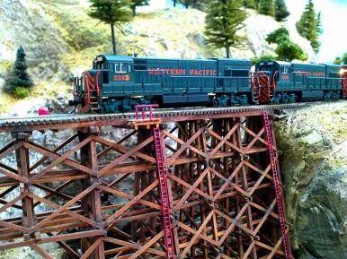 WP over James Canyon Trestle