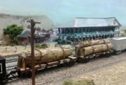 Benson 2014 9 Logs At Solent Summit