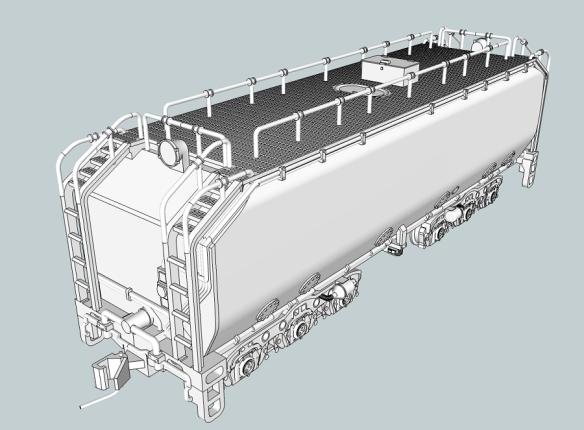 UP Water Tender (Turbine) Type 1