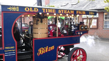 Bitza Steam Lorry Fordingbridge - April 2014 1