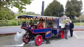 Bitza Steam Lorry Fordingbridge - April 2014 2