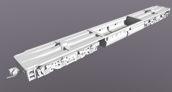 DD35 Dummy Chassis