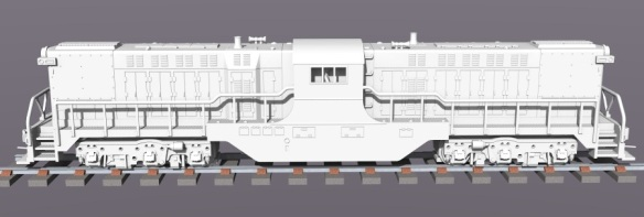 Baldwin DT6-6-2000 Side Render