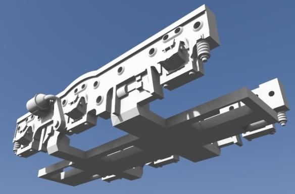 Baldwin DT6-6-2000 Truck 2