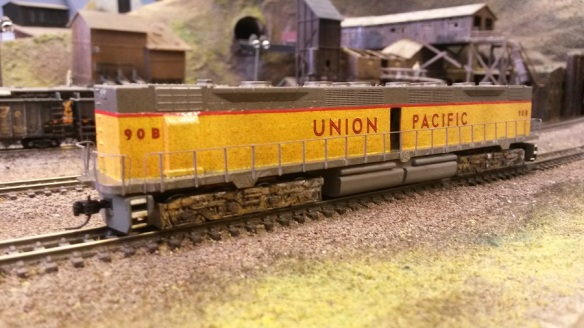 EMD DD35 With Brass Etched Additions 1