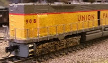 EMD DD35 With Brass Etched Additions 5
