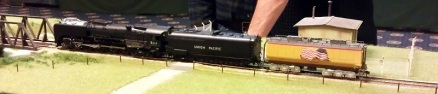 BR HO Modular Group With UP Tender - NMRA 2014 1