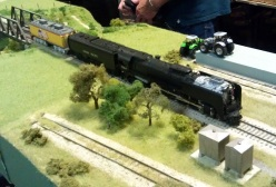 BR HO Modular Group With UP Tender - NMRA 2014 11
