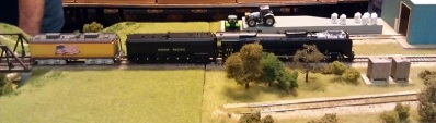 BR HO Modular Group With UP Tender - NMRA 2014 12