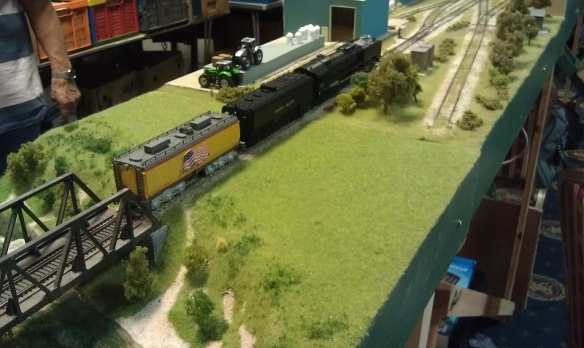BR HO Modular Group With UP Tender - NMRA 2014 14