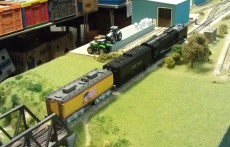 BR HO Modular Group With UP Tender - NMRA 2014 17