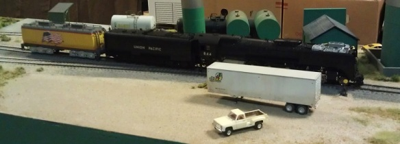 BR HO Modular Group With UP Tender - NMRA 2014 18