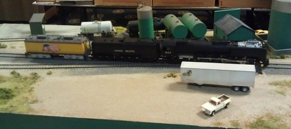 BR HO Modular Group With UP Tender - NMRA 2014 19