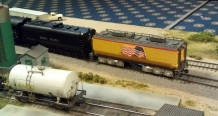 BR HO Modular Group With UP Tender - NMRA 2014 20