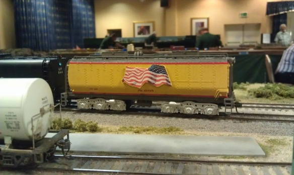 BR HO Modular Group With UP Tender - NMRA 2014 21