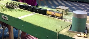 BR HO Modular Group With UP Tender - NMRA 2014 3