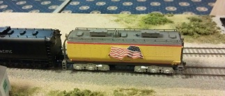 BR HO Modular Group With UP Tender - NMRA 2014 5