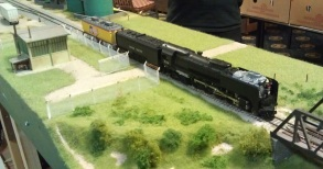 BR HO Modular Group With UP Tender - NMRA 2014 9
