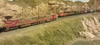 Horsethief Bridge NMRA 2014 - BNSF Meet 1