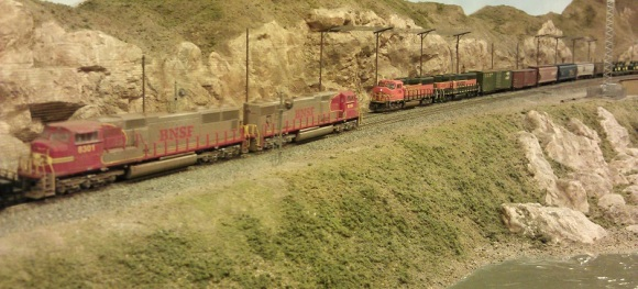 Horsethief Bridge NMRA 2014 - BNSF Meet 1