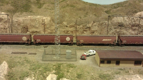 Horsethief Bridge NMRA 2014 - Grain Train 2