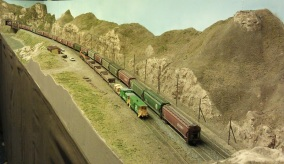 Horsethief Bridge NMRA 2014 - Grain Train 3