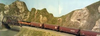 Horsethief Bridge NMRA 2014 - Grain Train 4