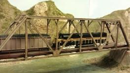 Horsethief Bridge NMRA 2014 - Monon Interloper 3